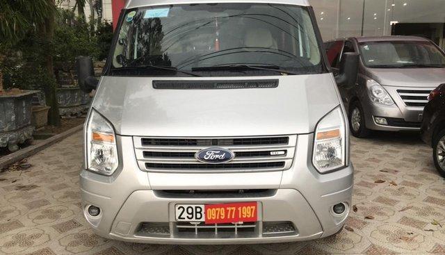 Bán Ford Transit sản xuất 2014, màu bạc, giá 450tr