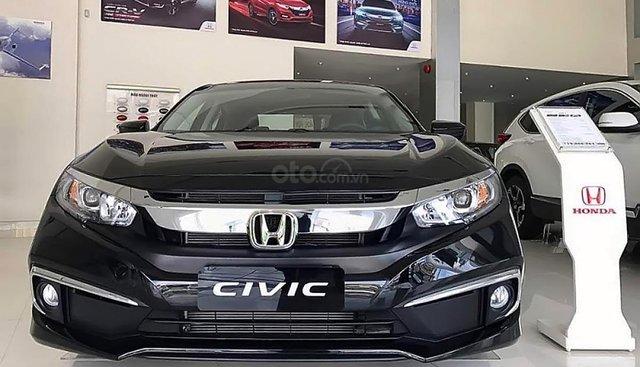 Bán Honda Civic 1.8 E năm 2019, màu đen, xe nhập
