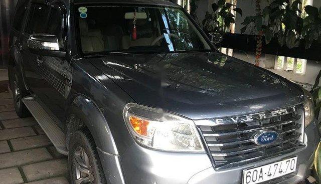 Bán Ford Everest năm sản xuất 2010, màu xám chính chủ, giá 465tr