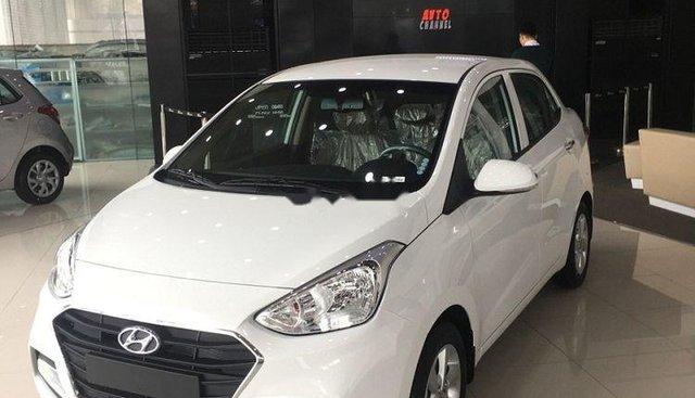Cần bán Hyundai Grand i10 1.2 MT đời 2019, màu trắng, giá 380tr
