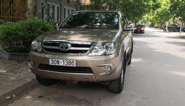 Chính chủ bán Toyota Fortuner SR5 đời 2008, màu vàng, nhập khẩu