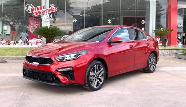 Bán xe Kia Cerato năm sản xuất 2019, màu đỏ, 675 triệu