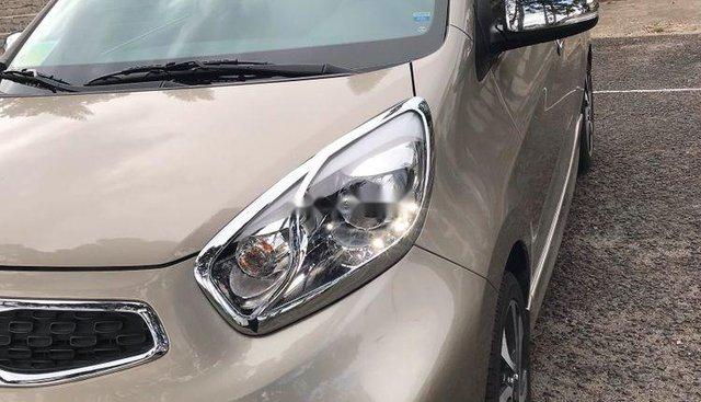 Gia đình bán lại xe Kia Morning đời 2017, màu xám, xe nhập
