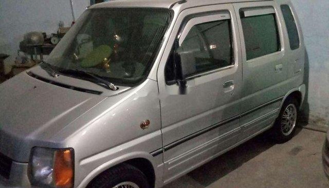 Bán ô tô Suzuki Wagon R 2007, màu bạc, nội thất bên trong còn rất mới