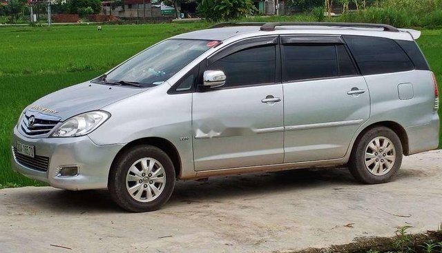 Bán Toyota Innova năm 2009, màu bạc, nhập khẩu