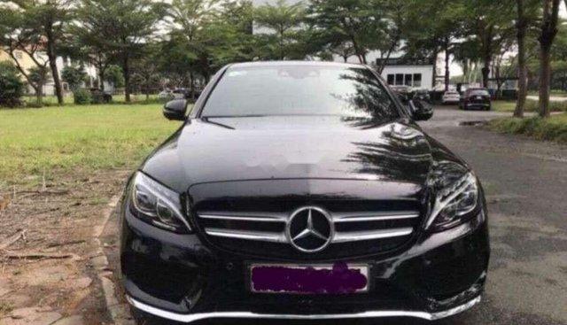 Cần bán lại xe Mercedes C300 AT sản xuất năm 2016, màu đen