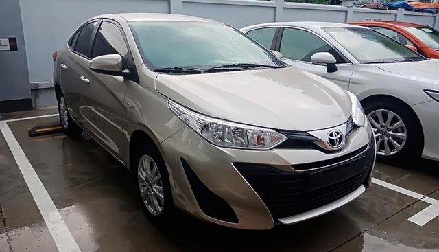 Bán ô tô Toyota Vios E MT sản xuất 2019, màu nâu, 460 triệu