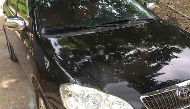 Cần bán lại xe Toyota Corolla altis 2003, màu đen