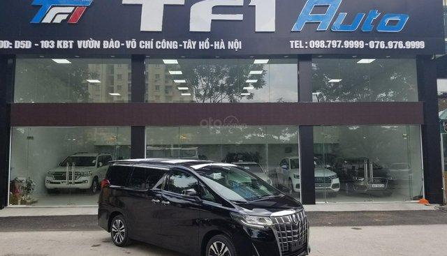 Cần bán Toyota Alphard sản xuất 2019, màu đen, nhập khẩu