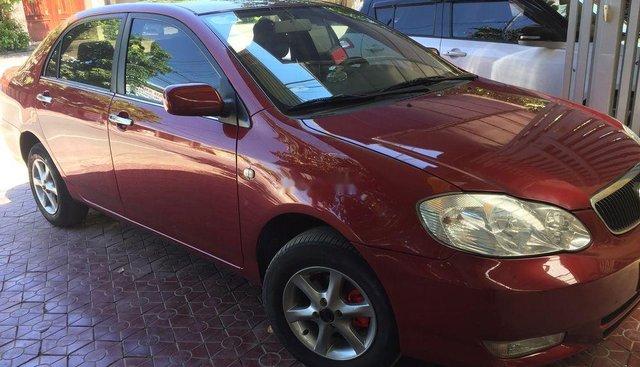 Bán Toyota Corolla altis năm 2003, màu đỏ, giá chỉ 235 triệu
