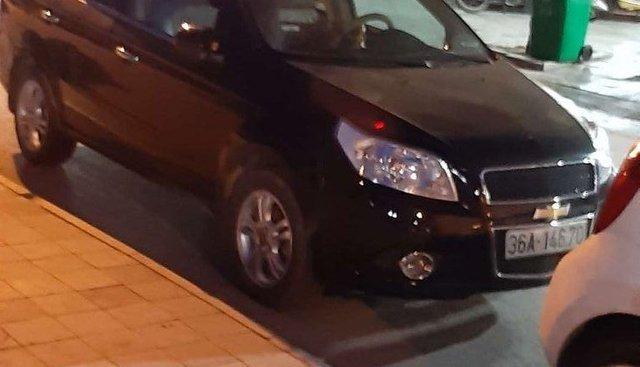 Bán xe Chevrolet Aveo đời 2015, màu đen, giá 285tr