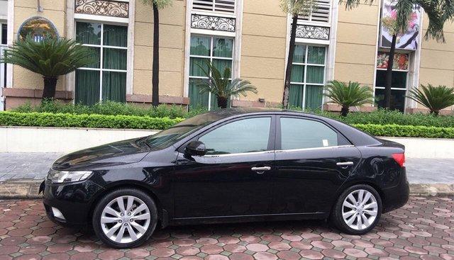 Bán Kia Cerato 2010,số tự động, màu đen, xe nhập bản full