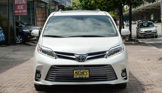 Bán Toyota Sienna Limited FWD 3.5 2019, màu trắng, nhập Mỹ mới 100%