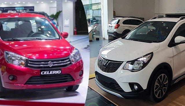 So sánh xe VinFast Fadil 2019 và Suzuki Celerio 2018