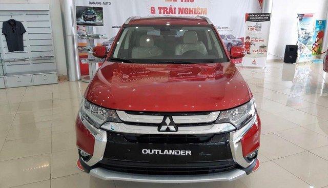 Bán Mitsubishi Outlander sản xuất 2019, màu đỏ, giá tốt