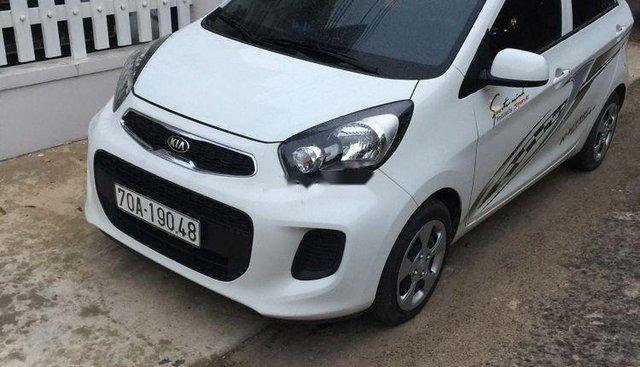 Cần bán lại xe Kia Morning 2015, màu trắng, xe zin đẹp