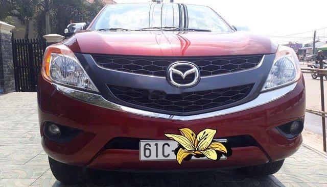 Bán ô tô Mazda BT 50 3.2 AT đời 2015, màu đỏ, đk đời cuối 2015, bảo hiểm 2 chiều