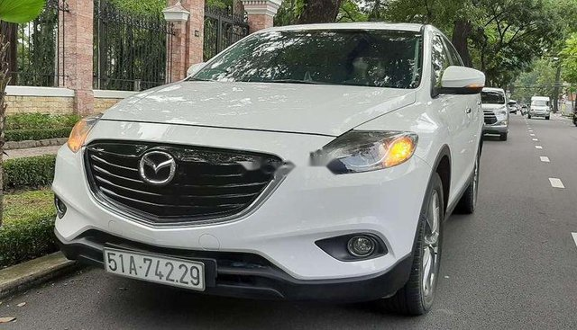 Bán xe Mazda CX 9 đời 2014, màu trắng, nhập khẩu, gia đình đi rất kỹ