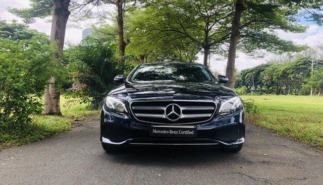 Mercedes E250 2018 lướt chính hãng 24.000 km, chỉ đóng 2 % thuế, bảo hành chính hãng 2 năm không giới hạn số km
