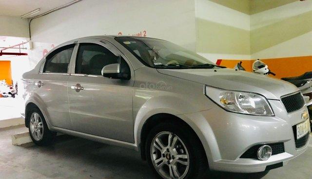 Bán Chevrolet Aveo đời 2015, màu bạc, đi được 13.000 km