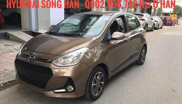 Bán Hyundai Grand i10 2019 - 120 triệu nhận xe, đủ màu, giao xe tận nhà, LH: 0902.965.732 Hữu Hân