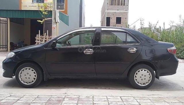 Bán Toyota Vios sản xuất 2005, màu đen, nhập khẩu