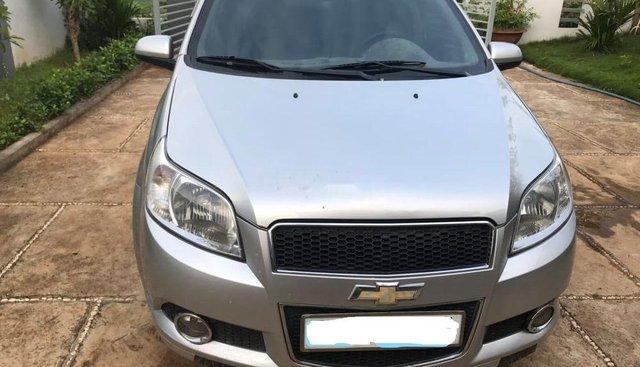 Bán Chevrolet Aveo LT năm sản xuất 2015, màu bạc