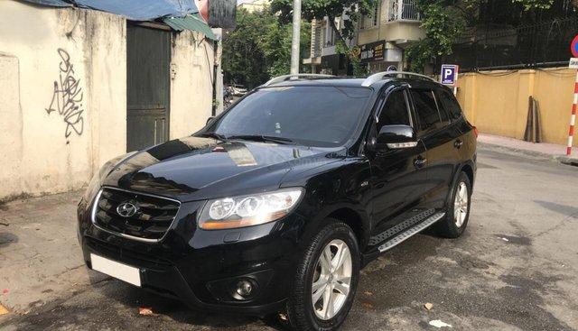Cần bán Hyundai Santa Fe SLX 2.0 AT 2WD đời 2011, màu đen, nhập khẩu nguyên chiếc giá cạnh tranh