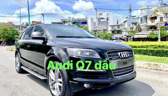 Bán Audi Q7 máy dầu nhập Đức model 2008, hàng full đủ đồ chơi hai cầu, số tự động