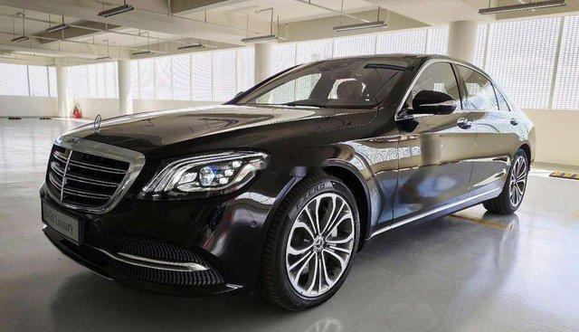 Bán xe Mercedes S 450L Luxury năm 2019, màu đen, nhập khẩu