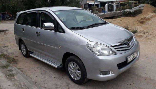Cần bán xe Toyota Innova MT đời 2009, màu bạc, nhập khẩu nguyên chiếc