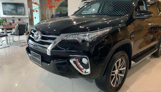 Bán xe Toyota Fortuner 2.8V đời 2018, màu đen, xe nhập