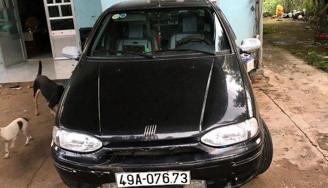 Cần bán lại xe Fiat Siena 1.6MT 2001, màu đen