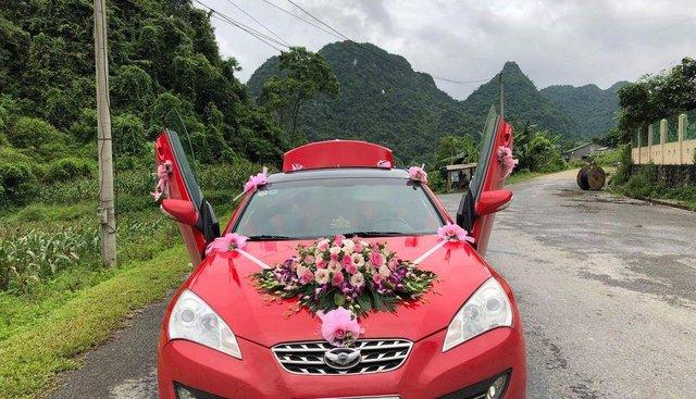 Chính chủ bán xe Hyundai Genesis 2011, màu đỏ, giá 550tr