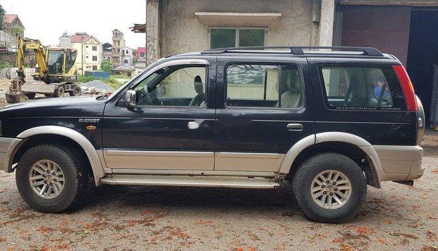 Cần bán xe Ford Everest 2005, màu đen, máy dầu, số sàn