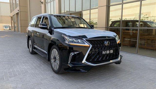 Bán Lexus LX570 Super Sport MBS 2019, 04 chỗ siêu VIP, màu đen, nhập Trung Đông, mới 100%