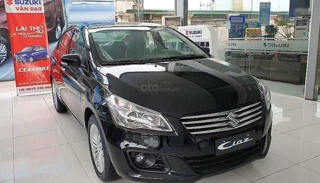 Bán Suzuki Ciaz 1.4 AT 2019, màu đen, xe nhập