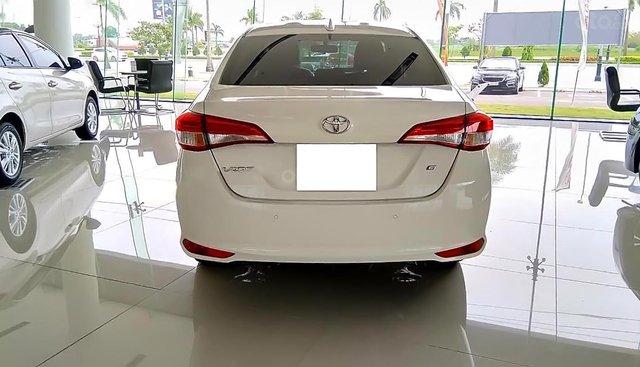 Bán Toyota Vios 1.5G đời 2019, màu trắng, giá 540tr