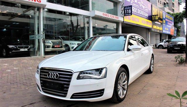 Vừa về Audi A8L model 2012, phủ ceramic từ mới, phun kịch option