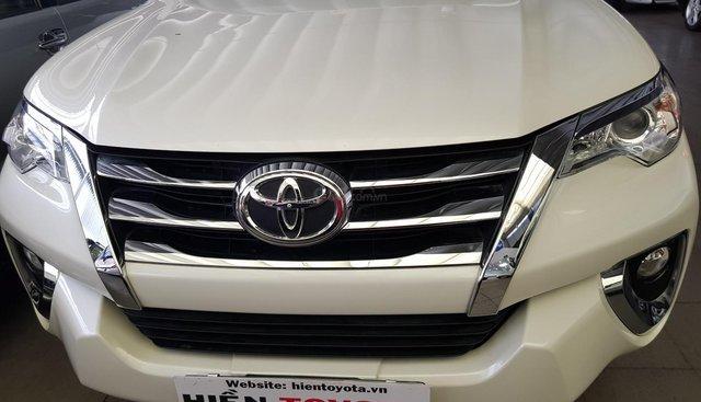 Bán Toyota Fortuner 2.7V 2017, màu trắng, xe nhập