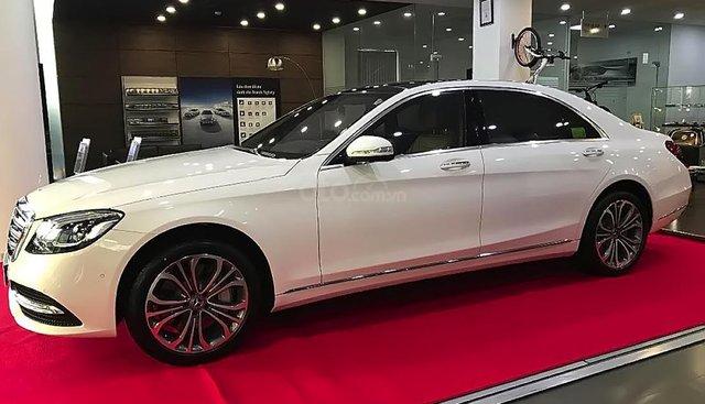 Cần bán xe Mercedes S450L Luxury đời 2019, màu trắng
