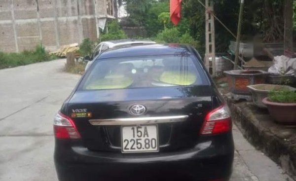 Gia đình bán Toyota Vios sản xuất năm 2009, màu đen