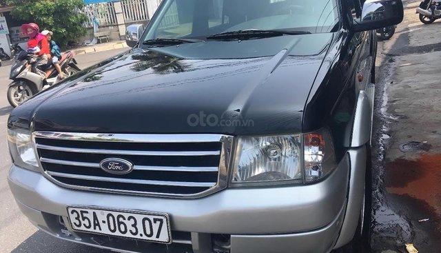 Cần bán xe Ford Everest năm 2006, màu đen