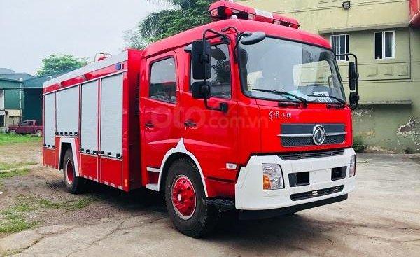 Bán xe cứu hỏa, xe chữa cháy 7 khối Dongfeng nhập khẩu 2019
