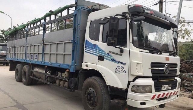 Bán xe Dongfeng 3 chân cầu thật đời tải 14,4 tấn, có bớt lộc