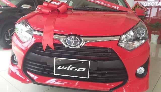 Bán gấp Toyota Wigo, giao xe ngay, khuyến mãi lớn cho tháng 7 âm lịch
