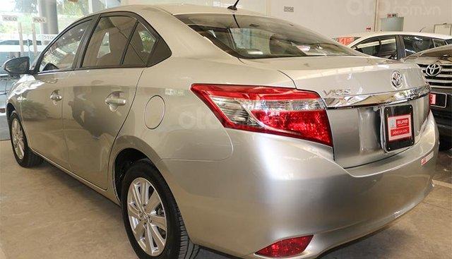 Bán ô tô Toyota Vios G năm sản xuất 2014, màu bạc, giá tốt