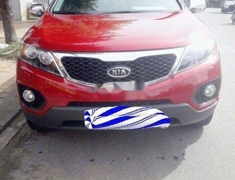 Cần bán Kia Sorento 2010, màu đỏ, xe nhập