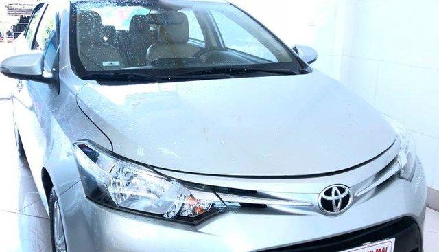 Bán Toyota Vios sản xuất năm 2014, màu bạc, nguyên bản từng từng chi tiết