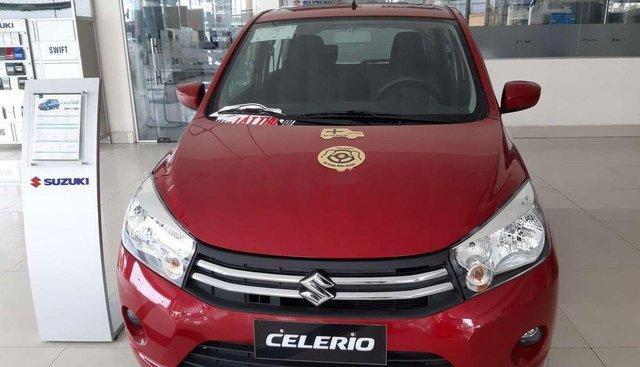Cần bán Suzuki Celerio sản xuất 2019, màu đỏ, nhập khẩu nguyên chiếc, giá chỉ 329 triệu